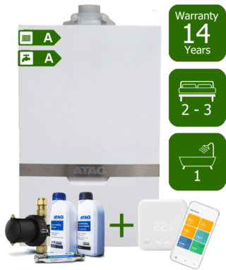 Atag iC Economiser 27kW Combi Boiler with Atag Comfort Pack and Tado Smart Controls