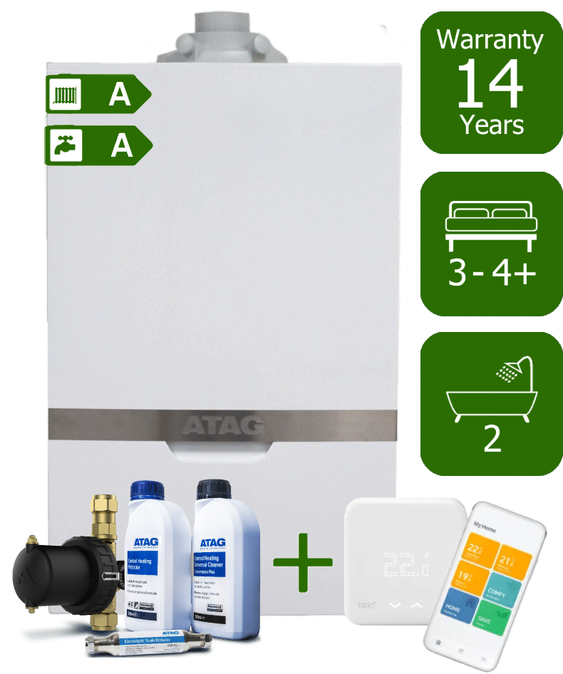 Atag iC Economiser 35kW Combi Boiler with Atag Comfort Pack and Tado Smart Controls