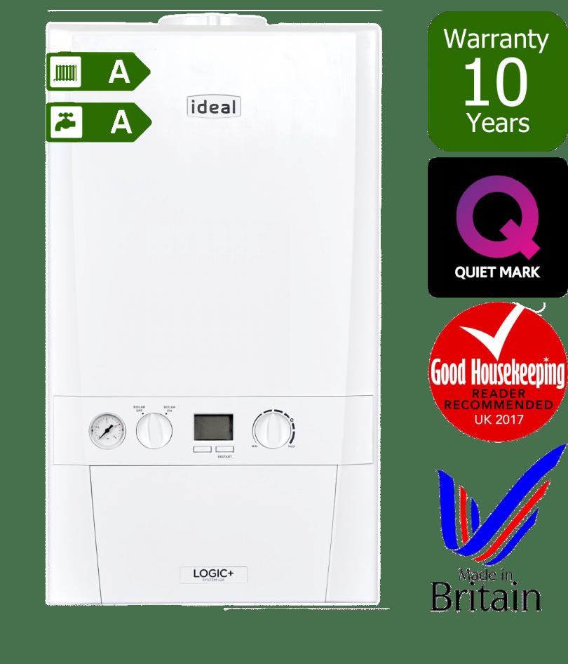 Ideal Logic Plus System Boiler