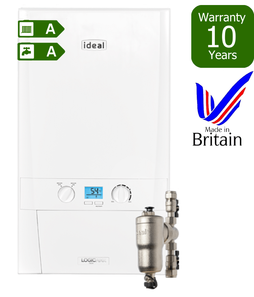 Ideal Logic Max Heat Only Combi Boiler with Ideal Filter